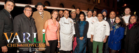 Varli Chef Showcase 2013 – In Association with the Indian Consulate